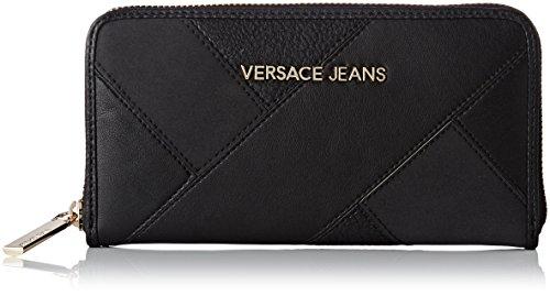Versace Jeans Ee3vqbpk2_e75428, Portefeuilles femme, Nero, 2x11x19 cm (W x H L)