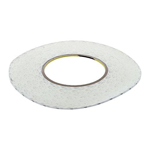 SODIALR 50 M Cinta blanca doble cara Banda adhesiva