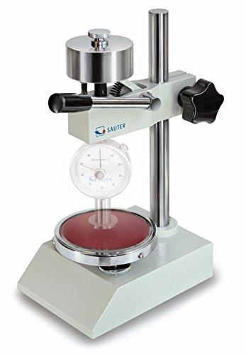 Hebelprüfstand für reproduzierbare Härteprüfungen mit Grundplatte aus Glas [Sauter TI-AC] geeignet für Shore-Durometer HBA und HB0