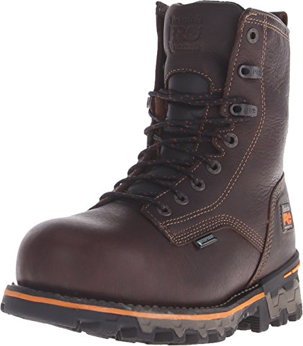 c0ac1facb45d7 Timberland PRO Men s 8 inch Boondock Comp Toe WP INS Boot, Brown, ...