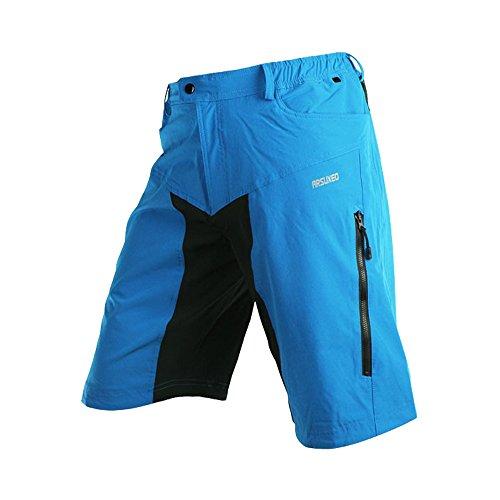 speedspo Herren Outdoor Sport Multifunktion MTB Hose Blau Gr. XXL