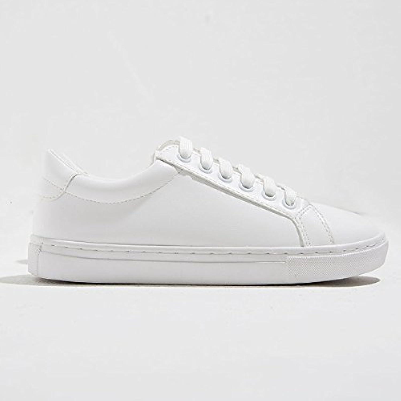 Wuyulunbi@ Scarpe in bianche scarpe scarpe scarpe in Scarpe primavera e autunno,Thirty-Seven,Bianco Parent fb2984