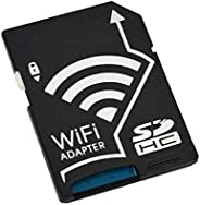 Wifi SD Card Adapter Micro SD MicroSD TF Converter for SONY Canon Nikon Cameras Photos Wirelessly to Phone Tab