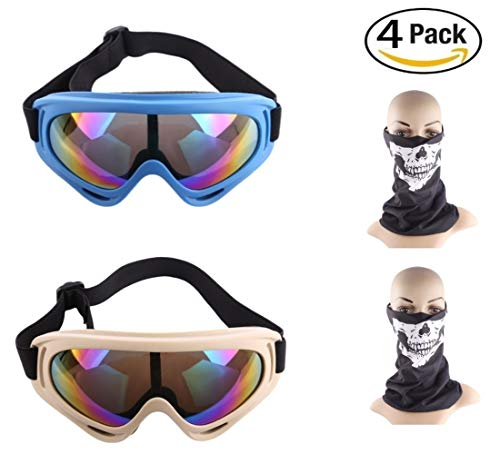Lvl25 LEVEL25 - Pack Set 2 Gafas Protectores 2 máscaras