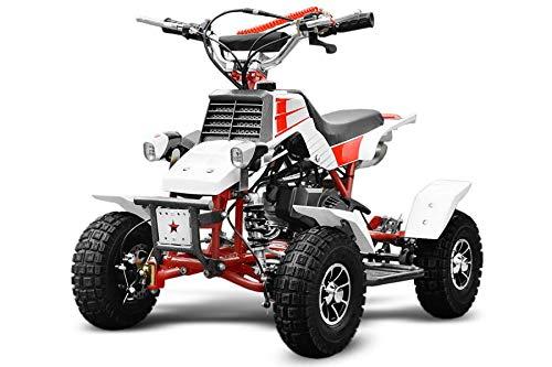 Mini Quad 2 Tempi 50cc NCX Moto F 50 Yammy Bianco e Rosso