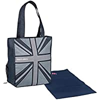 Maclaren Magazine Tote, Union Jack Denim by Maclaren