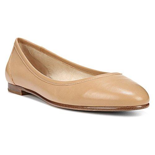 Via Spiga Demetria Cuir Chaussure Plate Nude