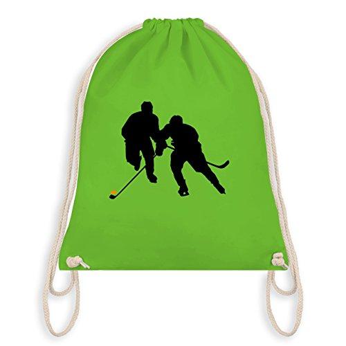 Eishockey - Eishockeyspieler - Unisize - Hellgrün - WM110 - Turnbeutel & Gym Bag