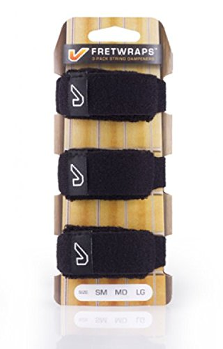 GruvGear FretWrap Pack - Medium - Black