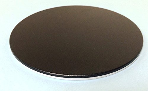 Replacement Black And White Stage Plate For Stereo Microscope 120mm Diameter
