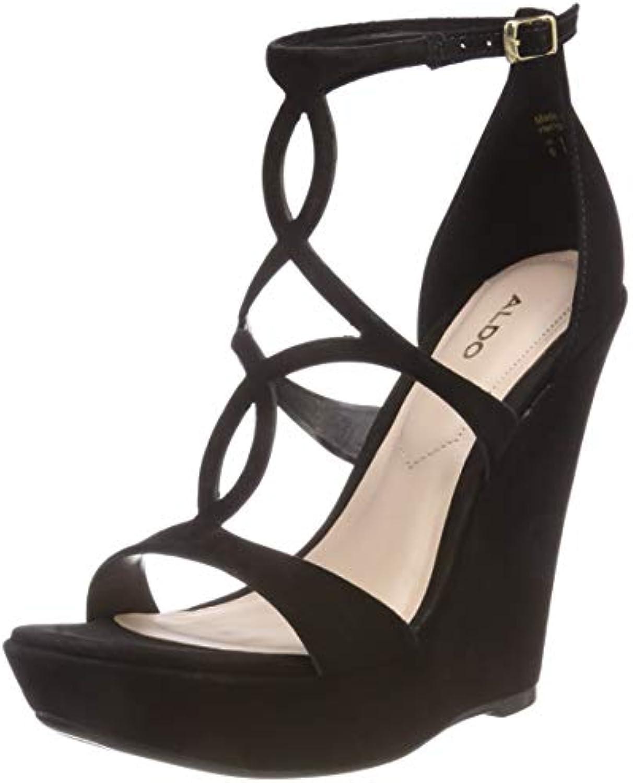 Aldo Unelinia, Zapatos con Plataforma para Mujer, Negro (Jet Black 93), 36 EU -