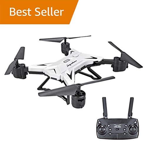 WANGKM Drohnenanfänger, Wi-Fi FPV Training Quadcopter mit Höhenhalt, 3D-Flips, Headless-Modus, One Key Return,für Kinder und Anfänger (Ohne Kamera),White