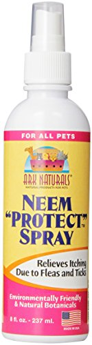 Ark Naturals NEEM PROTECT ANTI-ITCH Bug Repellant SPRAY for Dogs & Cats 8 oz