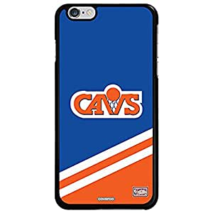 Coveroo Cell Phone Case for iPhone 6 Plus - Retail Packaging - Cavs Designs/Black