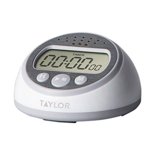 Taylor Precision Produkte Super lauter Timer, grau Taylor Timer