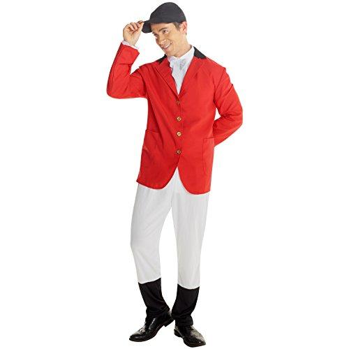 Beagling Fuchsjagd Uniform Kostüm Karneval (Fantastischen Vier Kostüme Für Erwachsene)