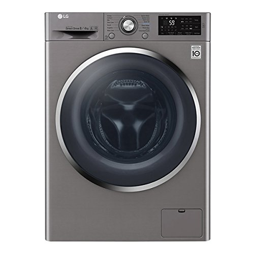 F4J6AM2S Freestanding Washer Dryer with 8KG Wash Load, 4KG Dry Load, A Energy Rating and 1400 RPM Spin