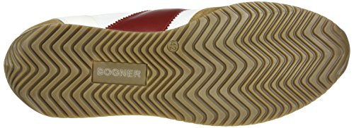 Bogner Monza 1a, Sneakers basses homme Mehrfarbig (White/Brown/Red)