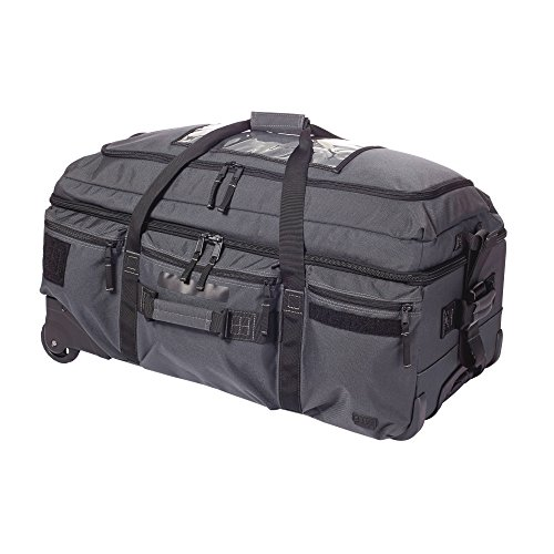 5.11 # 56960 Mission Ready 2.0 Rolling Duffle Bag, Double Tap (Duffle Rolling Trolley)