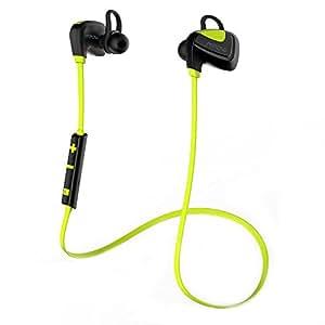 Mpow Seashell Auricolare Bluetooth 4.1 Wireless Sportive a Prova di Sudore con Microfono Impermeabile IP 4, per IPhone 6s plus/6s, Samsung S6/S6 Egde/S6 Edge+ S5 Note 4 3