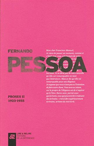 Proses : Volume II 1923-1935