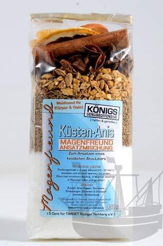 Magenfreund Ansatzmischung Küstenanis, 450g, zum Ansetzen, ohne künstliche Zutaten, Anislikör, Likör selber machen - Bremer Gewürzhandel