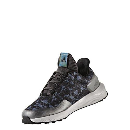 adidas Unisex-Kinder Rapidarun Uncaged K Sneakers Grau (Grpudg/amasol/negbas)