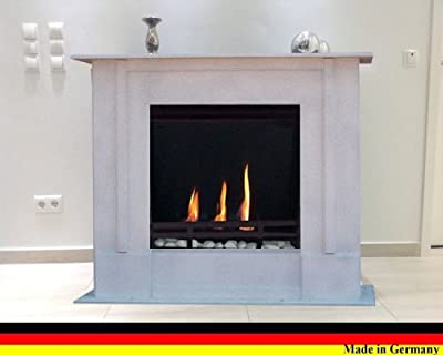 Gel + Ethanol Fireplace Rafael Premium - Choose from 9 colors (Granite light)