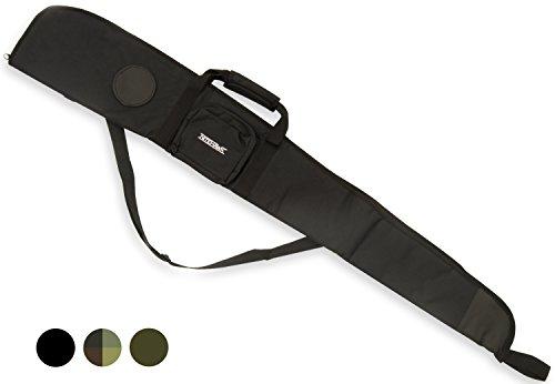 Housse de protection et de transport pour fusil à air comprimé//fusil de chasse - rembourré - Noir
