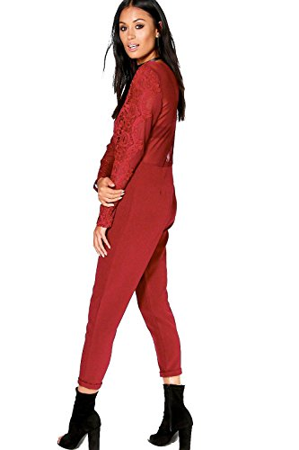 Baie Femmes Boutique Ava Barely There Maigre Leg Jumpsuit Baie
