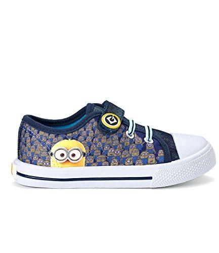 Minions Despicable Me Garçon Sneaker - bleu