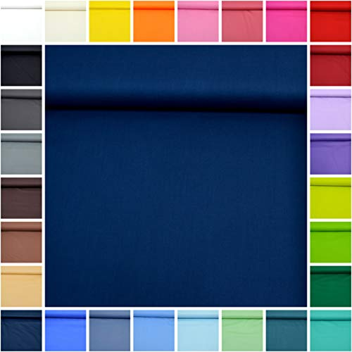 'tessuto di cotone tinta unita