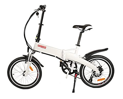 Wizzard 201720Inch Electric Folding Bike Folding Bike E-bike, Electric Bike