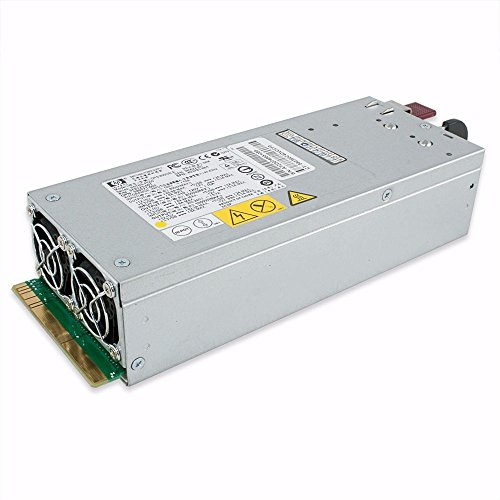 Hewlett Packard Enterprise Hot-Plug Power Supply 1000 W metallic Power Supply Unit – Power Supply Units (1000 W, 100 – 240 V, 50/60 Hz, Server, ProLiant DL380 G5, Proliant DL385 G5, Proliant ML370 G5, Metallic) (Hewlett Module Packard Power)