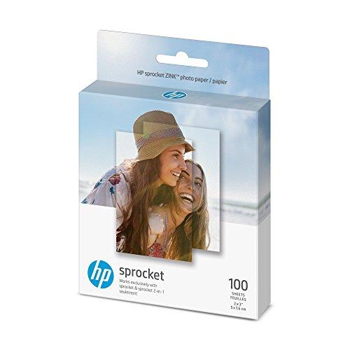 HP Sprocket Photo Paper-100 sticky-backed sheets/2