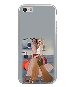 PrintVisa Lovely Babies High Gloss Designer Back Case Cover for Apple iPhone SE
