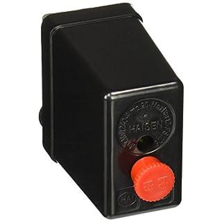 Kompressor Druckschalter, 240 V, 175 PSi 12 Bar Kontrollschalter, Schwarz