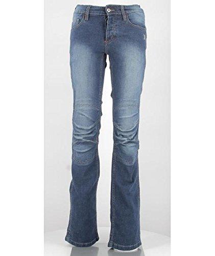 OJ - Jeans 4 Stagioni Tessuto Esterno in Denim Elasticizzato Venere Lady, Denim, 40