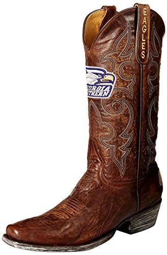 NCAA Georgia Southern Eagles Men's Board Room Style Boots, Brass, 11.5 D (M) US