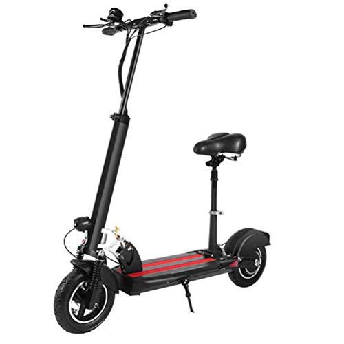 """DOS Elektroroller Klappbarer E-Scooter Akku bis 40km, klappbarer Elektro-Roller E-Scooter Erwachsene Kinder 500W Elektroscooter 9\"""" Große Räder"""