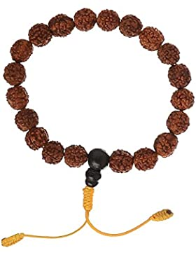 Hand-Mala mit Rudraksha beads -