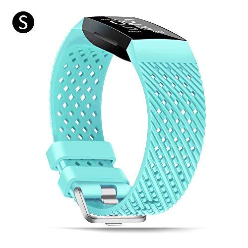K-Park Ersatz-Uhrenarmband für Fitbit Charge 3