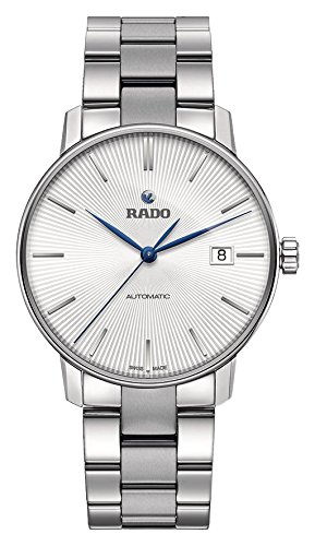 Rado Coupole L plata Dial Automático Mens Reloj r22860043