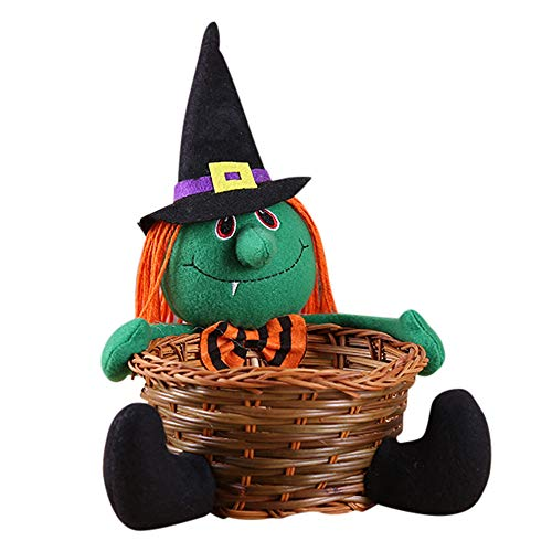 Fruits Basket Halloween Kostüm - Spielzeug -Artistic9 Halloween Candy Bowl Schwarze