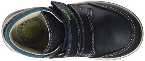 Pablosky 576024, Chaussures Garçon, Bleu Marine Bleu