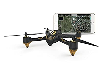 Hubsan 15030500x4Air Pro FPV Brushless Quadcopter–RTF Drone with App Steuerung, 1080p GPS, Follow Me, Waypoints, Battery and Charger from Hubsan