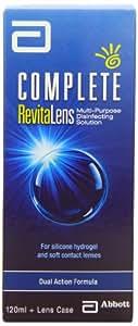Complete Revitalens - Produit d'entretien des Lentilles de contact Souples- 120 ml