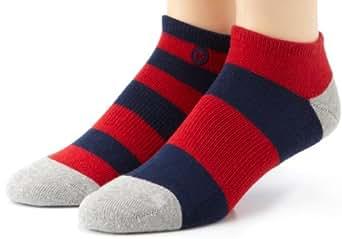 Stance Mariner Mix Match Low Socks - Red / Navy (S/M (UK 5-7.5))