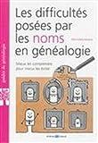 Les difficultés posées par les noms en généalogie: Mieux les comprendre pour mieux les éviter