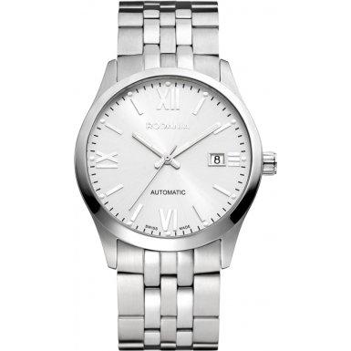Rodania Swiss Herren-Armbanduhr Xelos Analog Automatik Edelstahl RS2504942